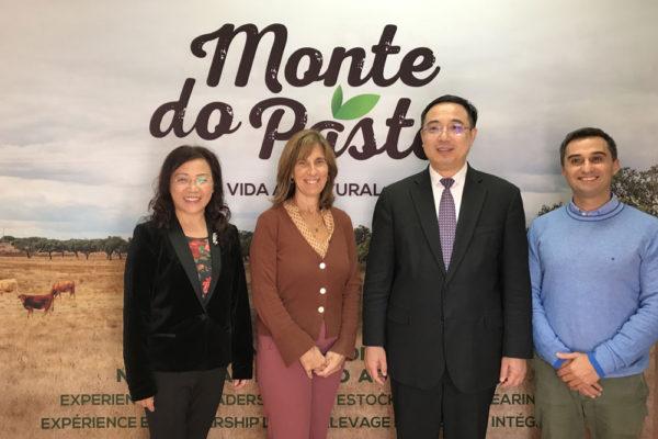 Monte do Pasto recebe Embaixador da China