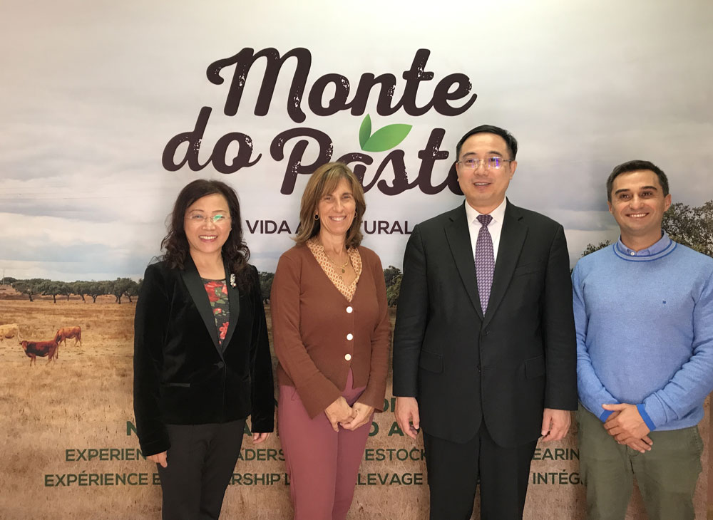 Monte do Pasto recebe Embaixador da China